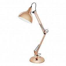 EGLO  94704 TL/1 E27 KUPFER BORGILLIO  stolná lampa
