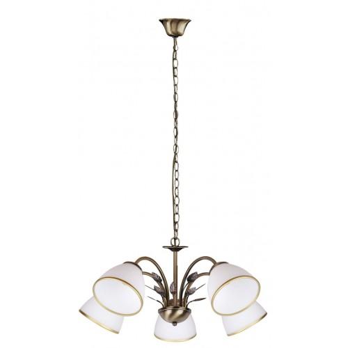 Rábalux 2780 Aletta,  závesná  lampa  5ramenná