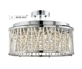 Searchlight 8335-5CC Elise, Stropné svietidlo