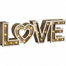 Dekorační stolní svítidlo GLobo 29976 LOVE