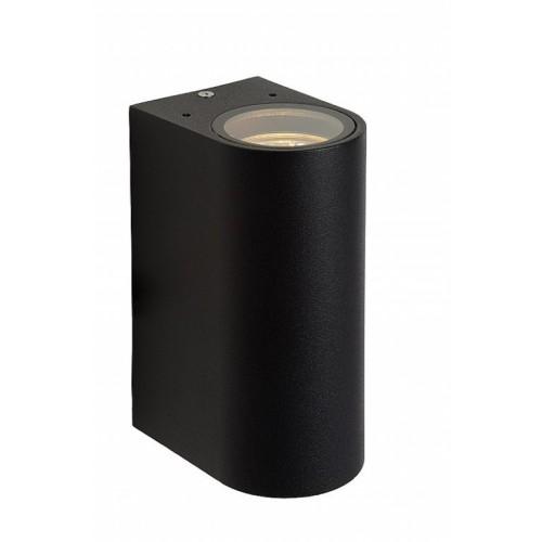 Lucide 27863/02/30 BOOGY  Wall Light 2xGU10 IP44 L7 H15cm Bl