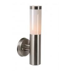Lucide 14863/01/12 KIBO Wall Light  IP44 H39cm E27 Satin Chrome