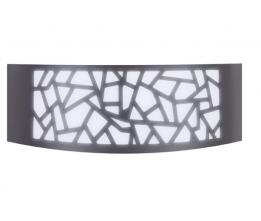LED-POL ORO10038 ORO-ZOE-2-GREY, Venkovní nástěnné svítidlo