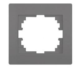 Kanlux LOGI 25294 Jednoduchý horizontálny rámeček,grafit