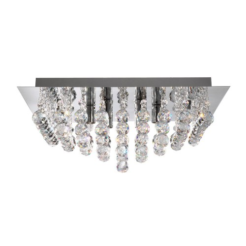 Searchlight  6406-6CC HANNA, Exkluzívne stropné svietidlo