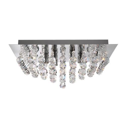 Searchlight  6404-4CC HANNA, Exkluzívne stropné svietidlo