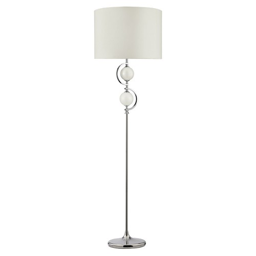 Searchlight EU2965WH TABLE AND FLOOR, stojacia lampa