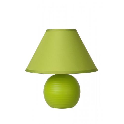 Lucide 14550/81/85 KADDY Table Lamp E14 H22 D20cm Green