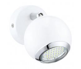 Eglo 31001 WL/1 GU10-LED WEISS/CHROM BIMEDA spot nástenný