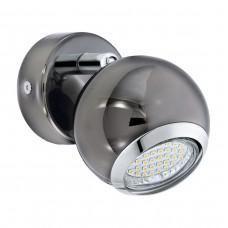 Eglo 31005 WL/1 GU10-LED NN/CHROM BIMEDA spot nástenný
