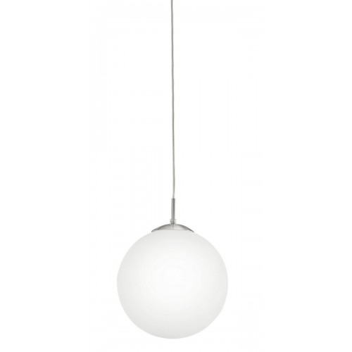 Eglo 85263 HL/1 DM300 NICKEL-MATT/OPAL-MATT RONDO, Závesné svietidlo