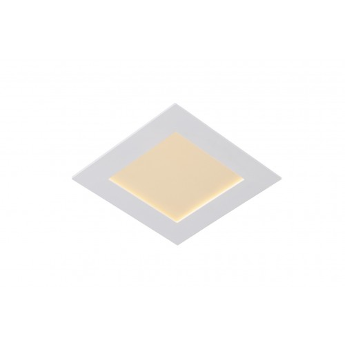 Lucide 28907/17/31 BRICE-LED Built-in Dimmable 15W Square 18,5cm