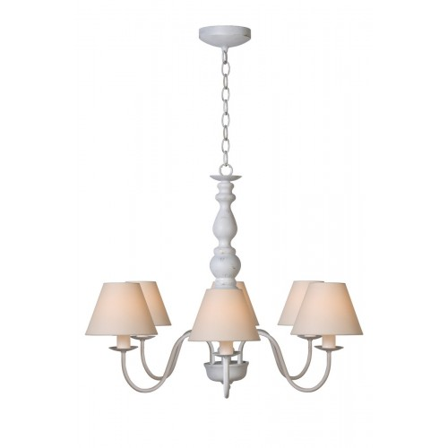 Lucide 31333/06/21 CAMPAGNE Chandelier 6xE14 Shade61009/16/38)An