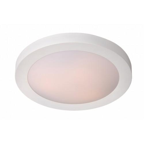Lucide 79158/01/31 FRESH Ceiling Light IP44 1xE27 D27cm White