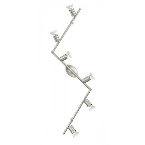 Eglo 92599 LS/6 NICKEL-MATT BUZZ-LED