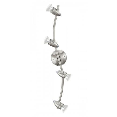 Eglo 92644 WELLE/4 NICKEL-M/CHROMMAGNUM-LED spot