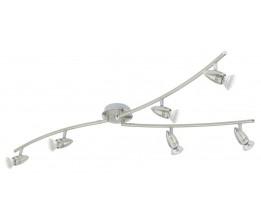 Eglo 92645 Y-FORM/6 NICKEL-M/CHROMMAGNUM-LED spot