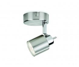 Massive-Philips 50310/17/E7 Meranti single spot nickel 1x35W 230V