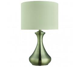Searchlight EU2750AB ANTIQUE BRASS TOUCH LAMP, Stolní svítidlo