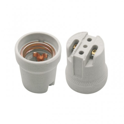 Kanlux 02160 HLDR-E27 (CP800-E27), keramická objímka