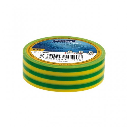 Kanlux  01277 IT-1/20-Y/GN, izolačná páska