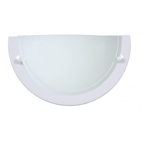 Lucide 07204/01/31  Wall lamp 1xE27/60W opal glass White
