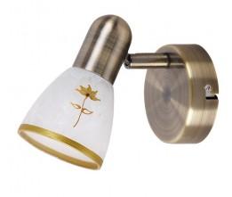 Rábalux 6356 Art flower, nástenná lampa, 1 ramenná