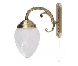 Rábalux 8631 Annabella, nástenná lampa s ťahacím spínačom