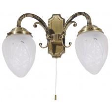 Rábalux 8632 Annabella, nástenná lampa s ťahacím spínačom, 2ramen.
