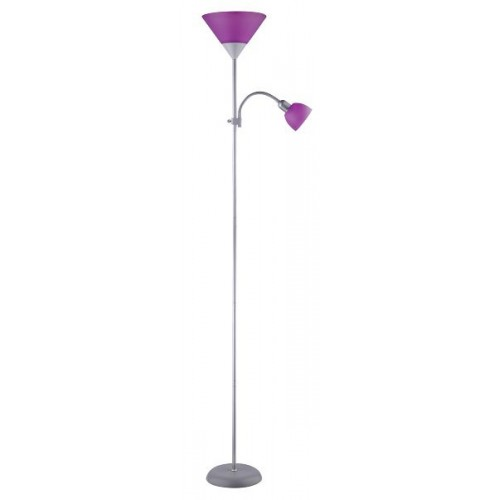 Rábalux 4020 Action, 2-ram. stojacia lampa s káblovým spínačom