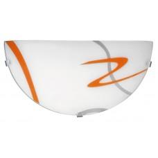 Rábalux 1814 Soley,  nástenná lampa, oranž.pruhy