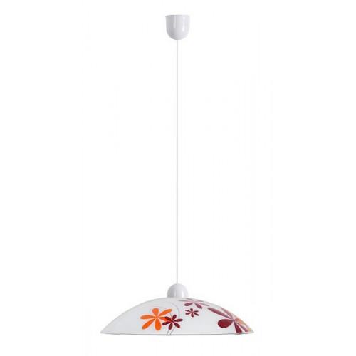Rábalux 1800 Iris, závesná lampa, fix