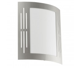 Eglo 82309 CL/1 stainless-steel w.slits ´CITY ´