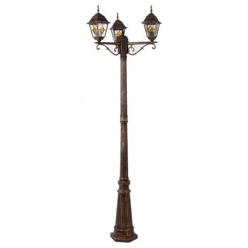 Rábalux 8186 Monaco, stojacia lampa , vonkajšia, 3ramenná