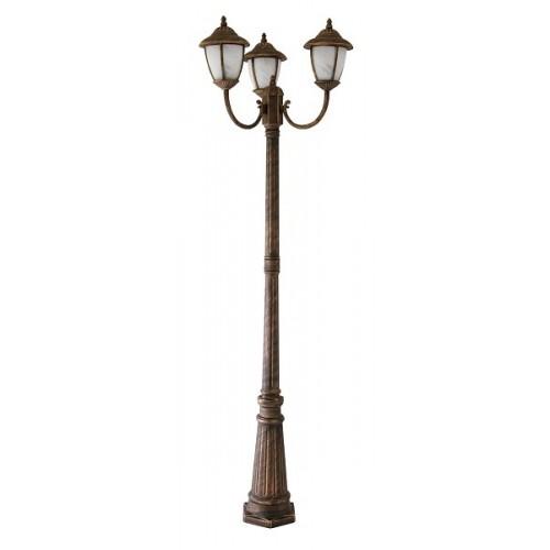 Rábalux 8379 Madrid, stojacia lampa , vonkajšia, 3ramenná