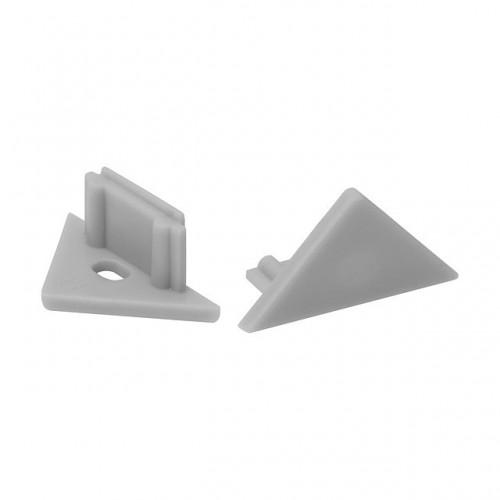 Kanlux 19184 STOPPER E  , profily pre lineárne LED  moduly, šedá