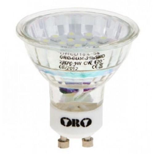 LED-POL ORO-GU10-21L-ZL