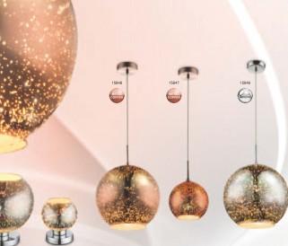 Moderní svítidla od GLOBO s 3D efektem