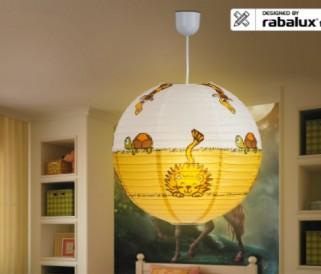 Dekorační dětské svítidla od Rabalux -Dětská fantazie nemá meze!
